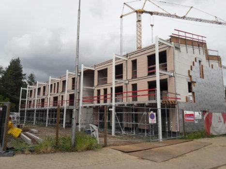 update betonterrassen nieuwbouw en planning renovatiewerken